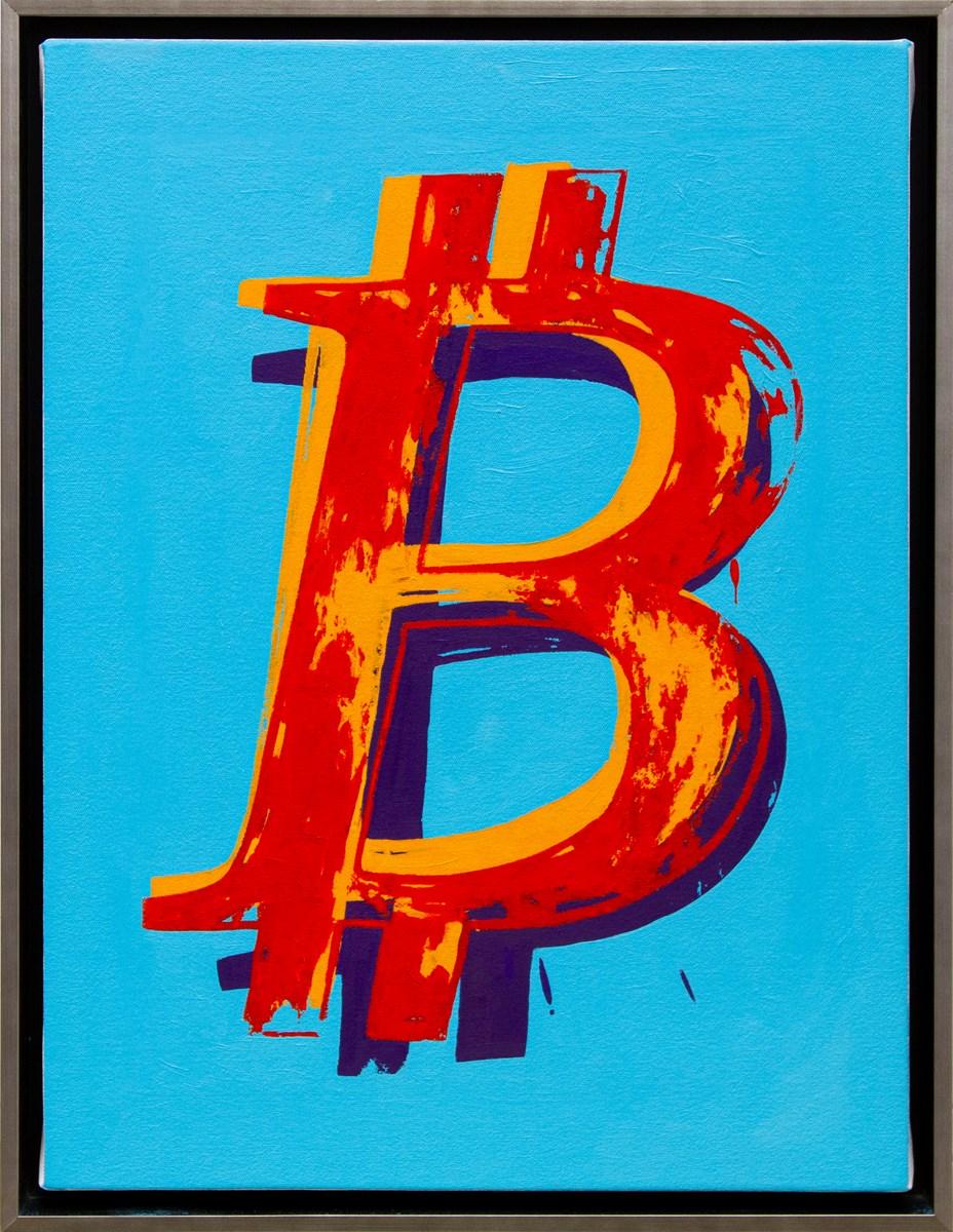Bitcoin - Blue